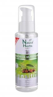 Natural Herbs Jojoba Badem Yağı Saç Serumu Kuru Kırılan Saçlar