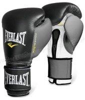 Everlast Powerlock Boks Ve Kick Boks Eldiveni Siyah