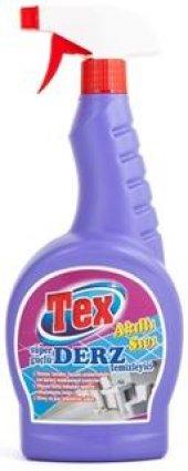 Tex Derz Temizleyici 750ml Mavi Su