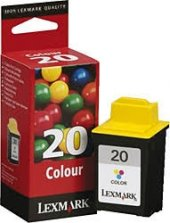 Lexmark 20 Renkli Orjinal Kartuş