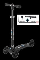 Kickboard Scooter Compact Black T Bar