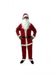 Noel Baba Kırmızı Polar Kostümü