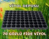 70 Gözlü Fide Viyolü (100 Adet) Tohum Çimlendirme Viyolü