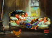 Anatolian 1000 Parça Puzzle Mutluluğun Resmi Home Sweet Home