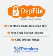 1 Aylık Depfile Premium Üyelik