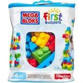 Mattel Dch55 Mega Bloks 60lı Blok Torbaları First Builders 1 5 Ya