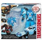 Transformers Mini Con Ve Fırlatıcı Drift Jetstorm