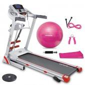 Dynamic Fluencem Plus Motorlu Masajlı Koşu Bandı Twister Ve 5'li Pilates Set Hediye