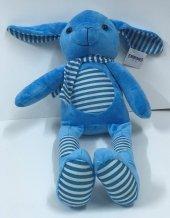 30cm Pijamalı Mavi Tavşan Peluş Oyuncak,kaliteli Sağlıklı, Peluşc
