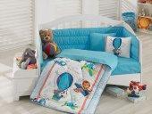 Cotton Box Bebek Uyku Seti Uçan Dostlar Mavi