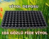 104 Gözlü Fide Viyol (50 Adet) Tohum Çimlendirme Viyolü