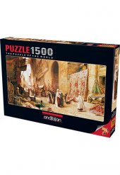 Anatolian 1500 Parça Puzzle Halı Pazarı