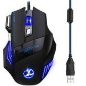 Piranha 7d X7 Gaming E Sports Oyuncu Mouse Kumaş Kablo