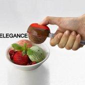 Silikon Tabanlı Bas Parmak Dondurma Kaşığı