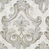 Nadia 9734 1 Damask Desenli Vinil Duvar Kağıdı