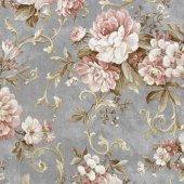 Nadia 9713 3 Vinil Çiçekli Duvar Kağıdı