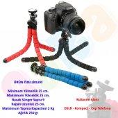 Nikon Dslr İçin 25cm Süngerli Ahtapot Gorillapod Tripod Tripot