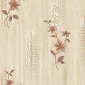 Vision 275 A Serpme Çiçek Desenli Duvar Kağıdı
