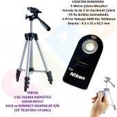 Nikon D5100 102cm Amatör Tripod + Ml L3 Kumanda