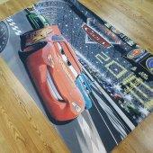 çocuk Odası Halısı Modelleri Şimşek Mcqueen Araba İ B948 130x190