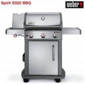 Weber Spirit S 320 Premium Gbs Paslanmaz Çelik Mangal