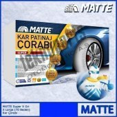Matte Super X Series Kar 235 65 R17 Patinaj Çorabı Xx Large