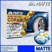 Matte Super X Series Kar 255 60 R18 Patinaj Çorabı Xx Large