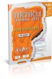 Anafen 7. Sınıf Fen Ve Teknoloji Tırtıklı Test Çözüm Dvdli