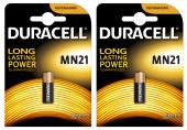 Duracell Mn21 12v Alkaline Pil 2 Paket (2 Adet)