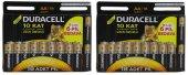 Duracell Aa Kalem Pil 13+5 2 Paket (36 Adet)