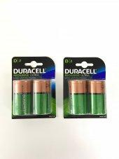 Duracell Şarj Edilebilir D Boy Pil 2li 2 Paket