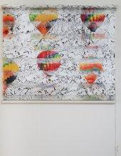 Mrs.pillow Balon Desenli Zebra Perde 60x200 Ebadında