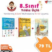 8.sınıf Yıldız Üçlü Set Paketi Tonguç Akademi Yayınları
