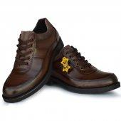 Shn 204 Yeni Sezon Hakiki Deri Eko Rok Günlük Erkek Ayakkabı