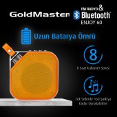 Goldmaster Enjoy 60 Turuncu Bluetooth Hoparlör