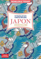 Yetişkinler İçin Yaratıcı Boyama Japon Desenleri Renklerle Terapi Libros Yayınları