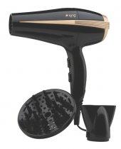 King K 427 Luna Saç Kurutma Makinesi Siyah