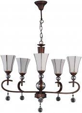 Aluna Lighting Bakır Antik Avize Fcl 39050 5