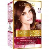 Loreal Excellence 5.5 Açık Kestane Kızıl Akaju Saç Boyası