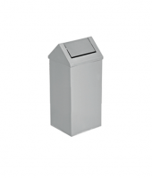 Paslanmaz Sallanır Çatı Kapaklı Çöp Kovası 11 L Flosoft
