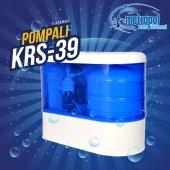 Pompalı 5 Aşamalı Su Arıtma Cihazı Kapalı Kasa Mavi Krs 39