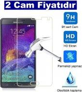 2 Adet Samsung Galaxy A5 2016 Kırılmaz Cam Ekran Koruyucu Tamperl
