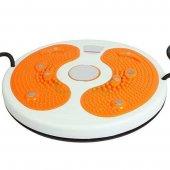 Bel İnceltici İpli Spor Aleti Waist Twisting Disc