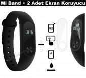Xiaomi Mi Band 2 Orjinal Akıllı Bileklik Saat Oled Ekran Nabız Öl