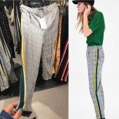 Kadın Zara Model Kumaş Pantalon