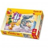 Tom Ve Jery 30 Parça Puzzle (Meyve Savaşları)