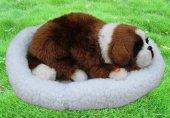 Oyuncak Gerçek Görünümlü Peluş Köpek