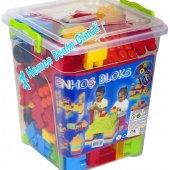 Enhoş Lego 140 Parca Kovalı Lego Yap Boz Blok Set