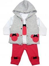 Hippıl Baby Kabartma Yelekli Bebek Takım 3 6 12 18 Ay