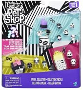 Littlest Pet Shop Miniş Siyah Beyaz Koleksiyonu Özel Set C2894